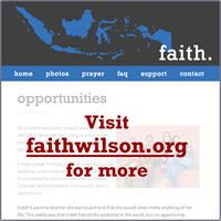 Visit faithwilson.org